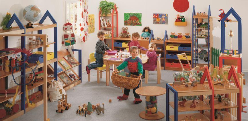 Holz Rahmen Bau Kindergarten