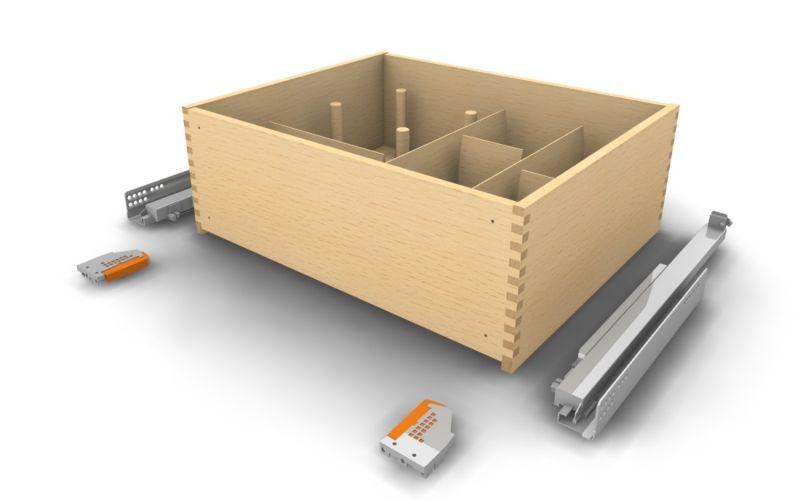 Holz Schublade Auszug mit Lochplatte